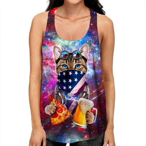 Image of Rave Cat Racerback