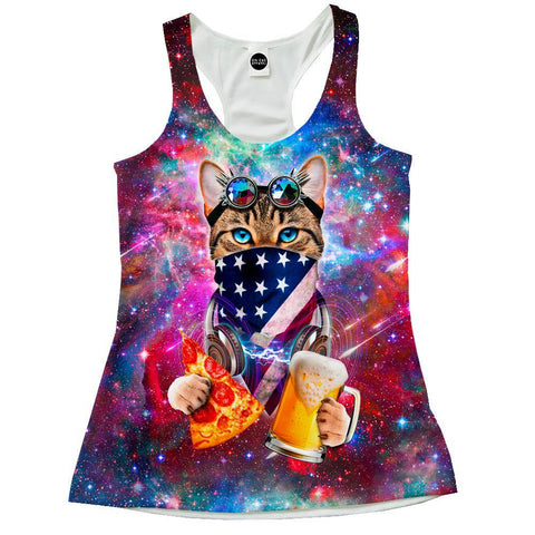 USA Rave Cat Racerback