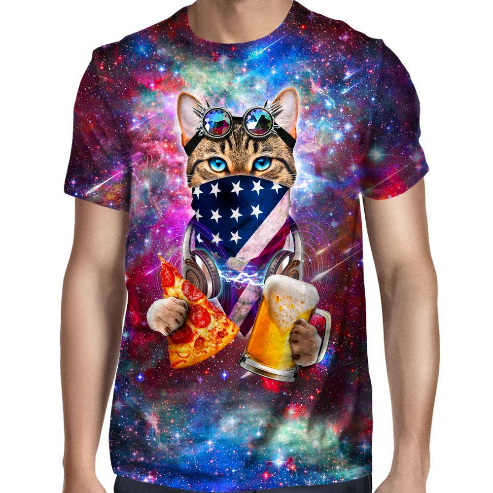 Rave Cat T-Shirt