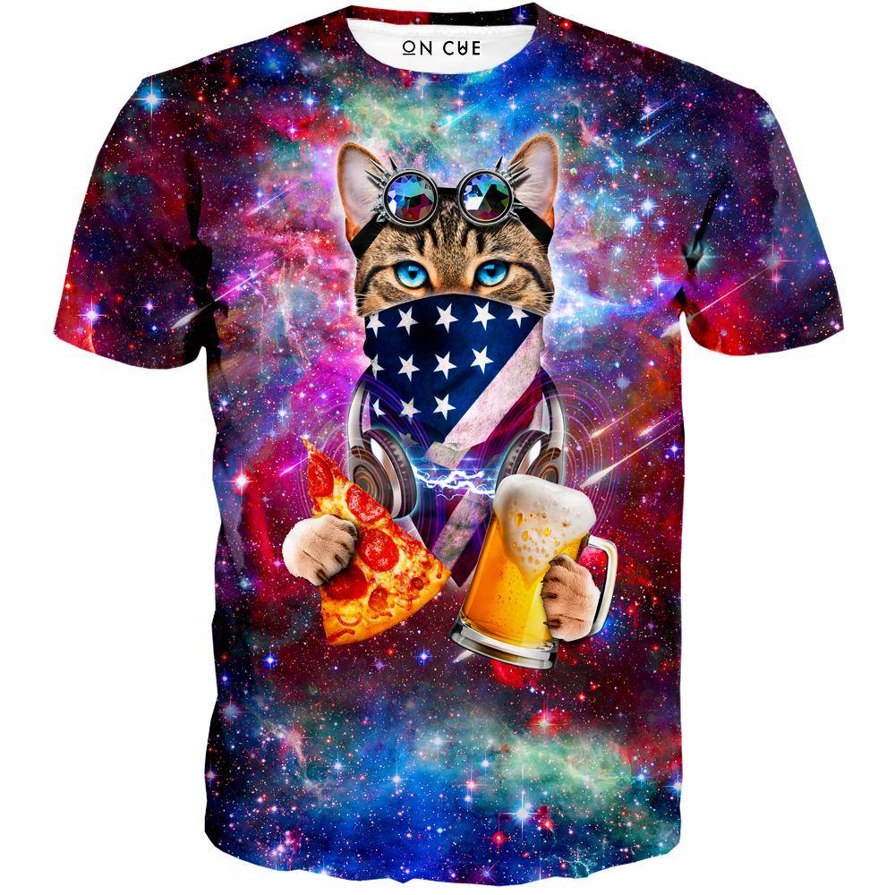 USA Rave Cat T-Shirt