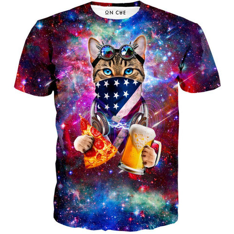 Image of USA Rave Cat T-Shirt
