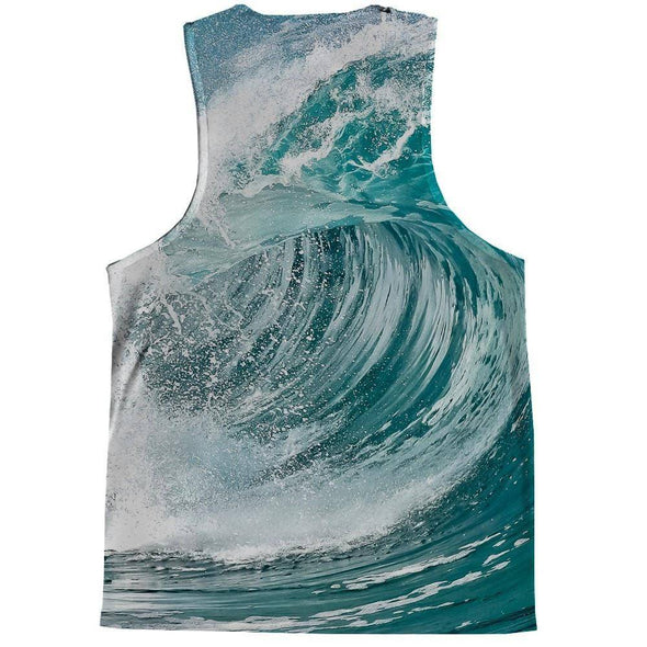 Surfing Kittie Tank Top