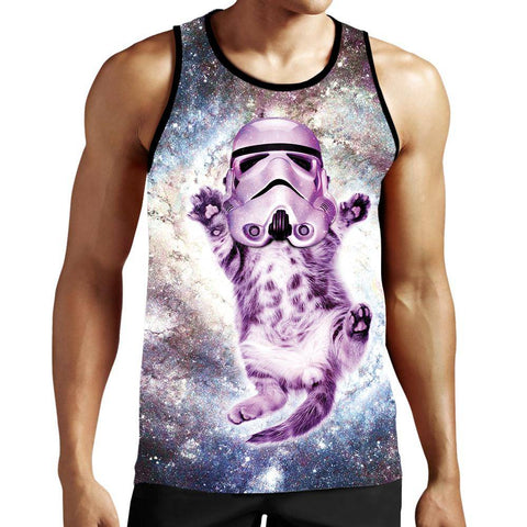 Cat Trooper Tank Top