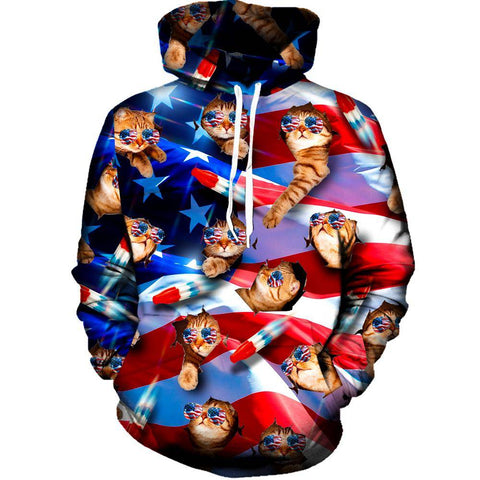 Image of United Cats Womens Hoodie