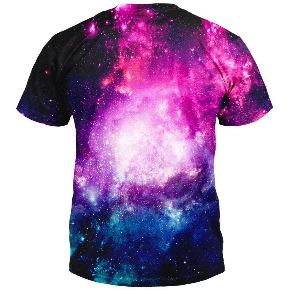 Space, Cats, and Pizza T-Shirt