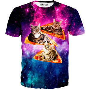 Cat Pizza T-Shirt