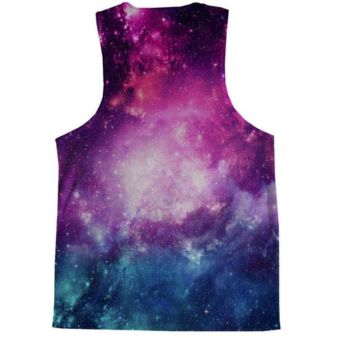 Image of Space, Cats, and Pizza Tank Top