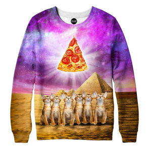 Pizza God Sweatshirt