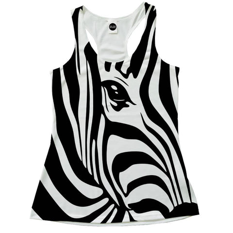 Zebra Stripes Racerback