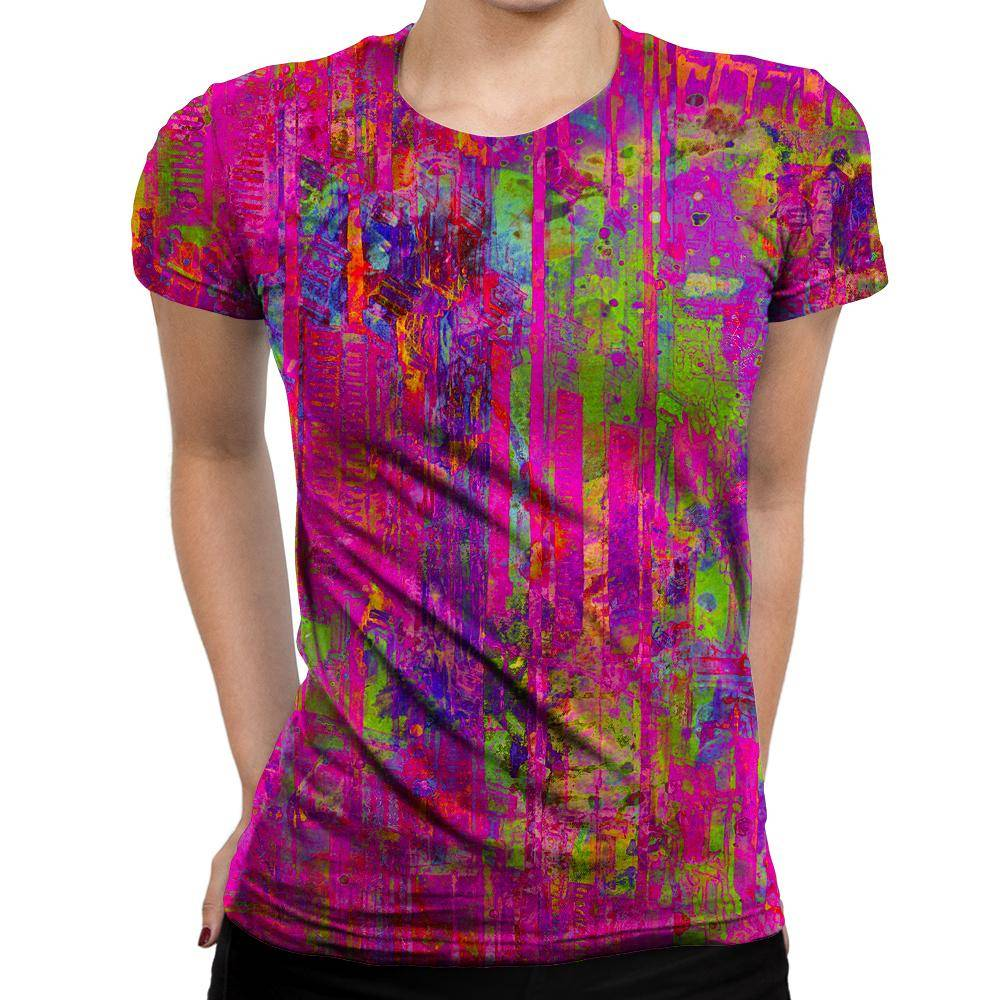 Abstract Womens T-Shirt