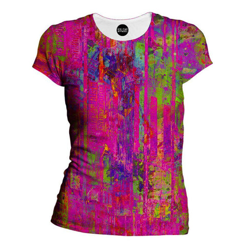 Image of City Of Columns Womens T-Shirt