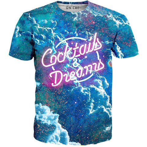 Image of cocktails t-shirt