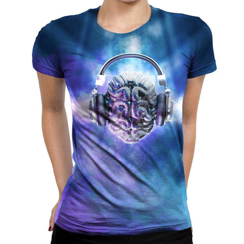 Image of Brain Womens T-Shirt