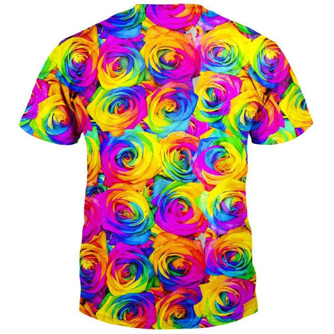 Image of Kaleidoscope Roses T-Shirt