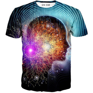 psychedelic t-shhirt
