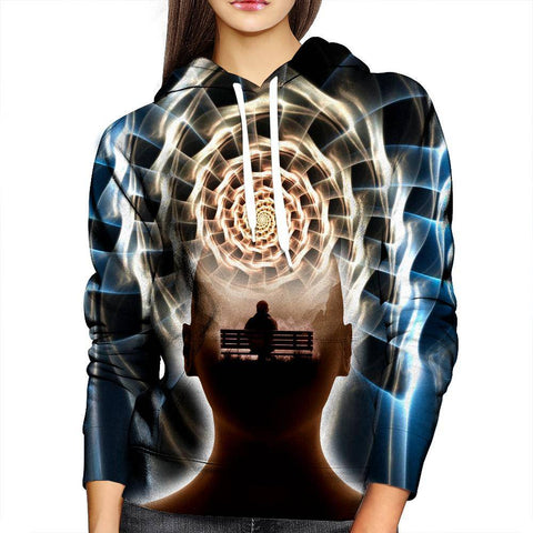 Image of Contemplating Infinity Womens Hoodie