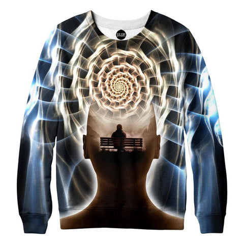 Image of Contemplating Infinity Womens Sweatshirt