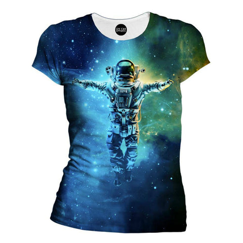 Cosmic Dreams Womens T-Shirt