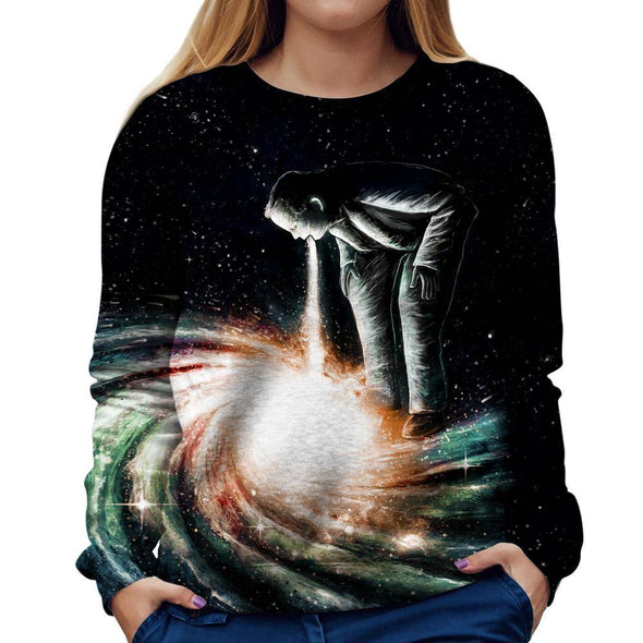 Galaxy Womens Sweatshirt