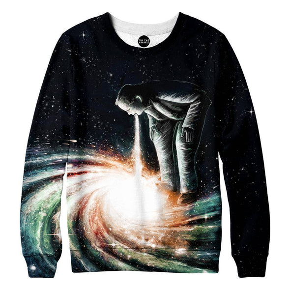 Cosmic Vomit Womens Sweatshirt