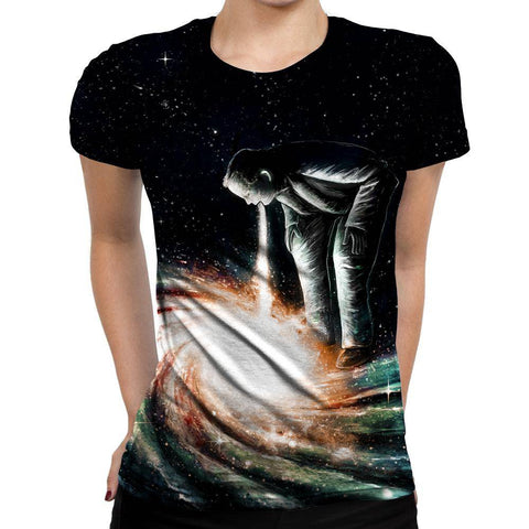 Image of Galaxy Womens T-Shirt
