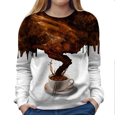 Coffee Womens Sweatshirt