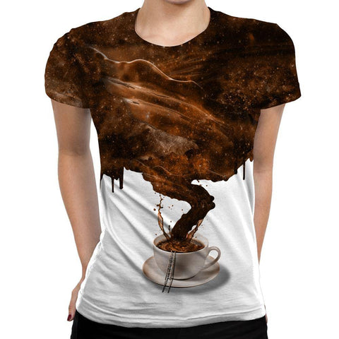 Image of Coffee Womens T-Shirt