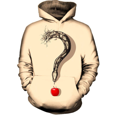 Image of Curious Temptation Womens Hoodie
