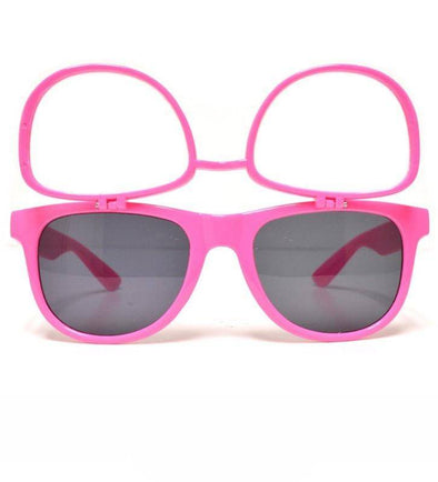 GloFX Flip Sunglasses + Diffraction – Pink