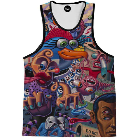 Image of Do Not Enter Tank Top