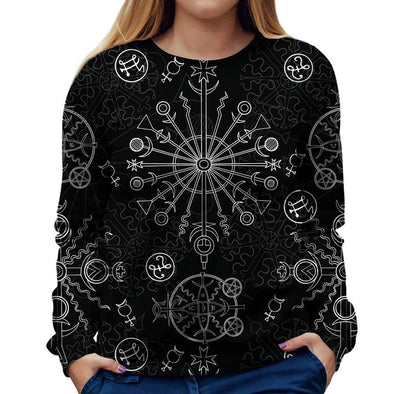 Dark Symbols Womens Sweatshirt
