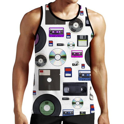 Image of Data Tank Top