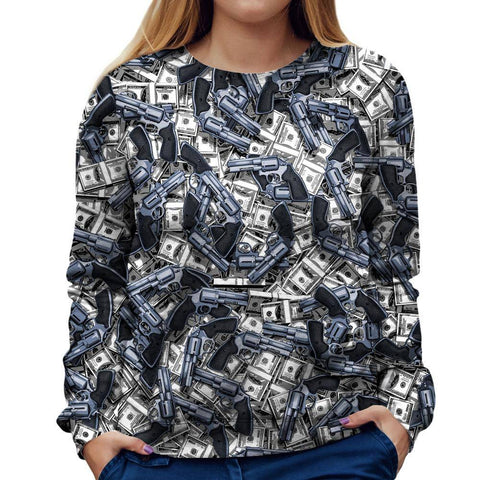 Image of Robbery Womens Sweatshirt