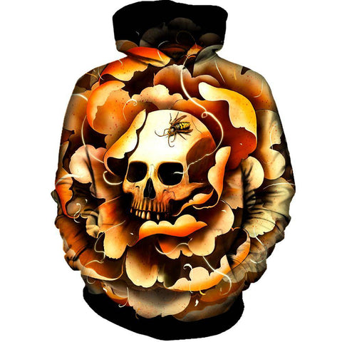 Image of Death Bloom Hoodie