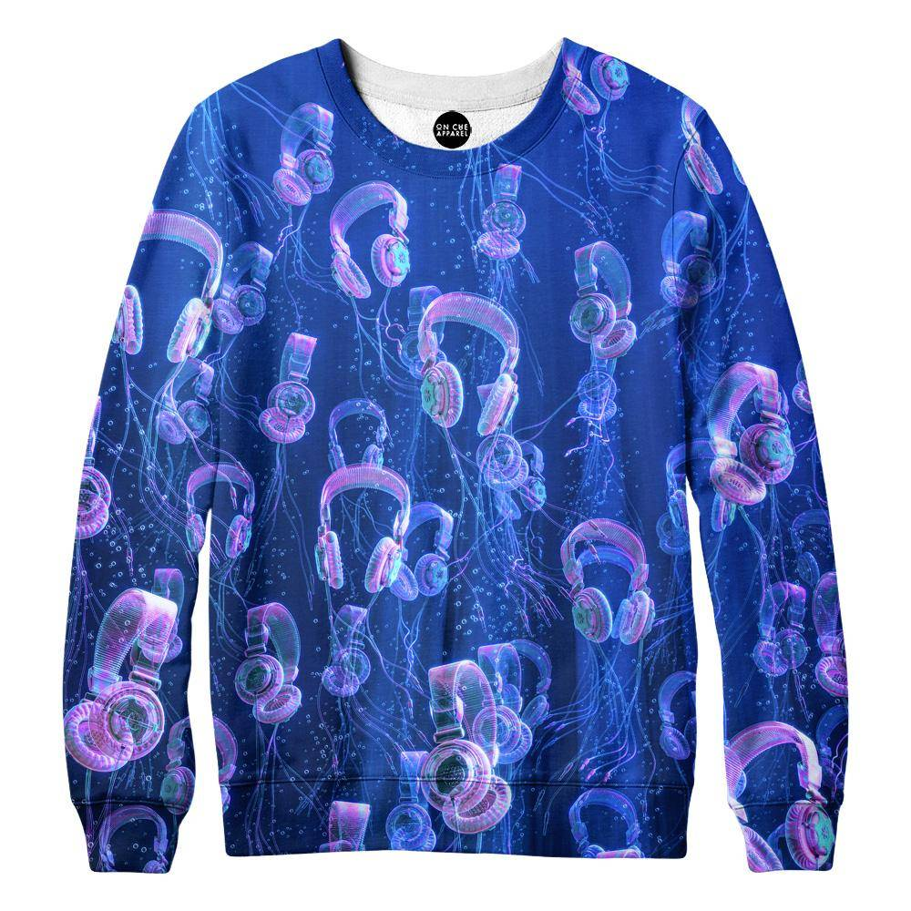 Deep Melody Womens Sweatshirt