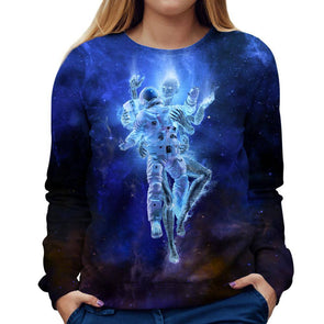 Robot Womens Sweatshirt
