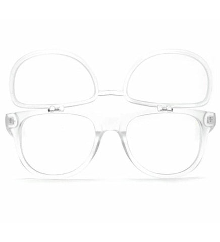 GloFX Matrix Glasses- Frosted Clear