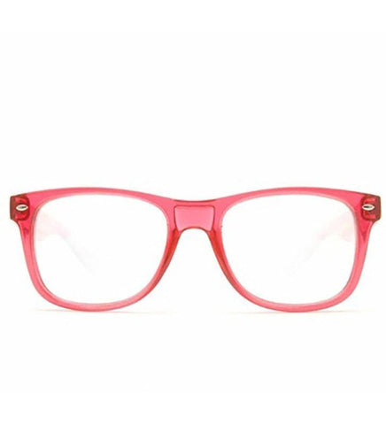 GloFX Ultimate Glasses – Transparent Red
