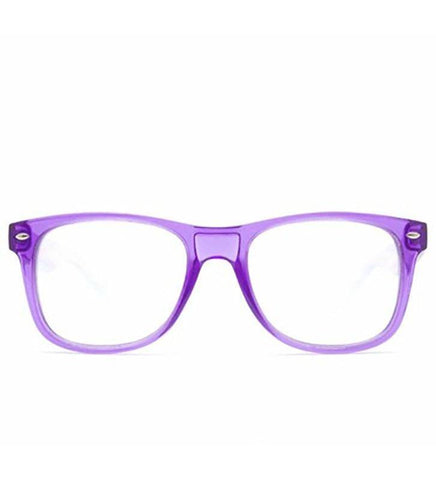 GloFX Ultimate Glasses – Transparent Purple
