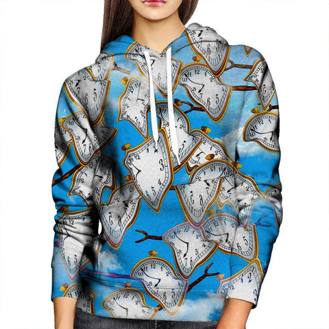 Image of Time Womens Hoodie