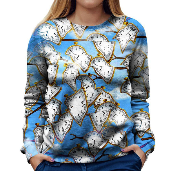 Time Womens Sweatshirt