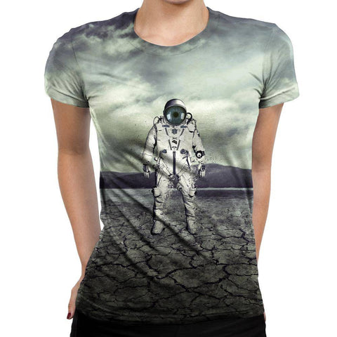 Image of Astroanut Womens T-Shirt