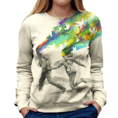 Love Womens Sweatshirt
