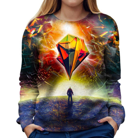 Image of Astronauts Womens Sweatshirt