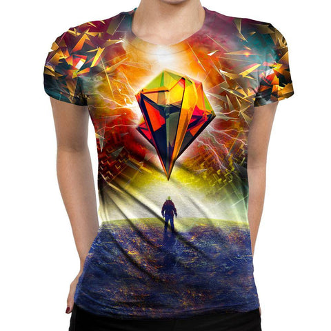 Image of Astronauts Womens T-Shirt