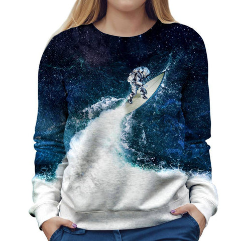 Image of Galaxy Womens Sweatshirt