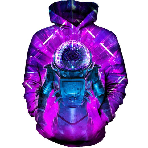 Entering The Unkown Womens Hoodie