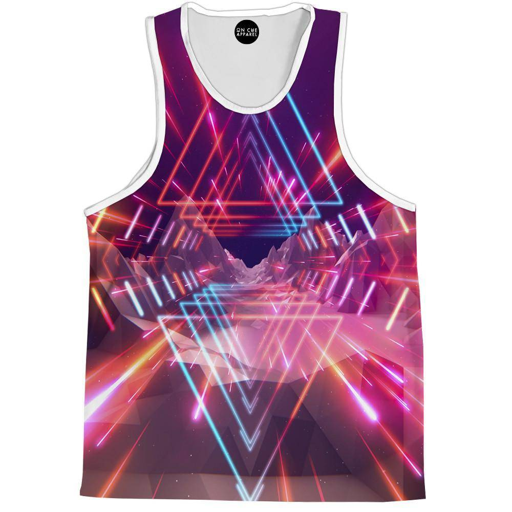 Futuristic Space Tank Top