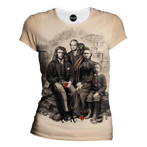 Image of Family Portrait Womens T-Shirt