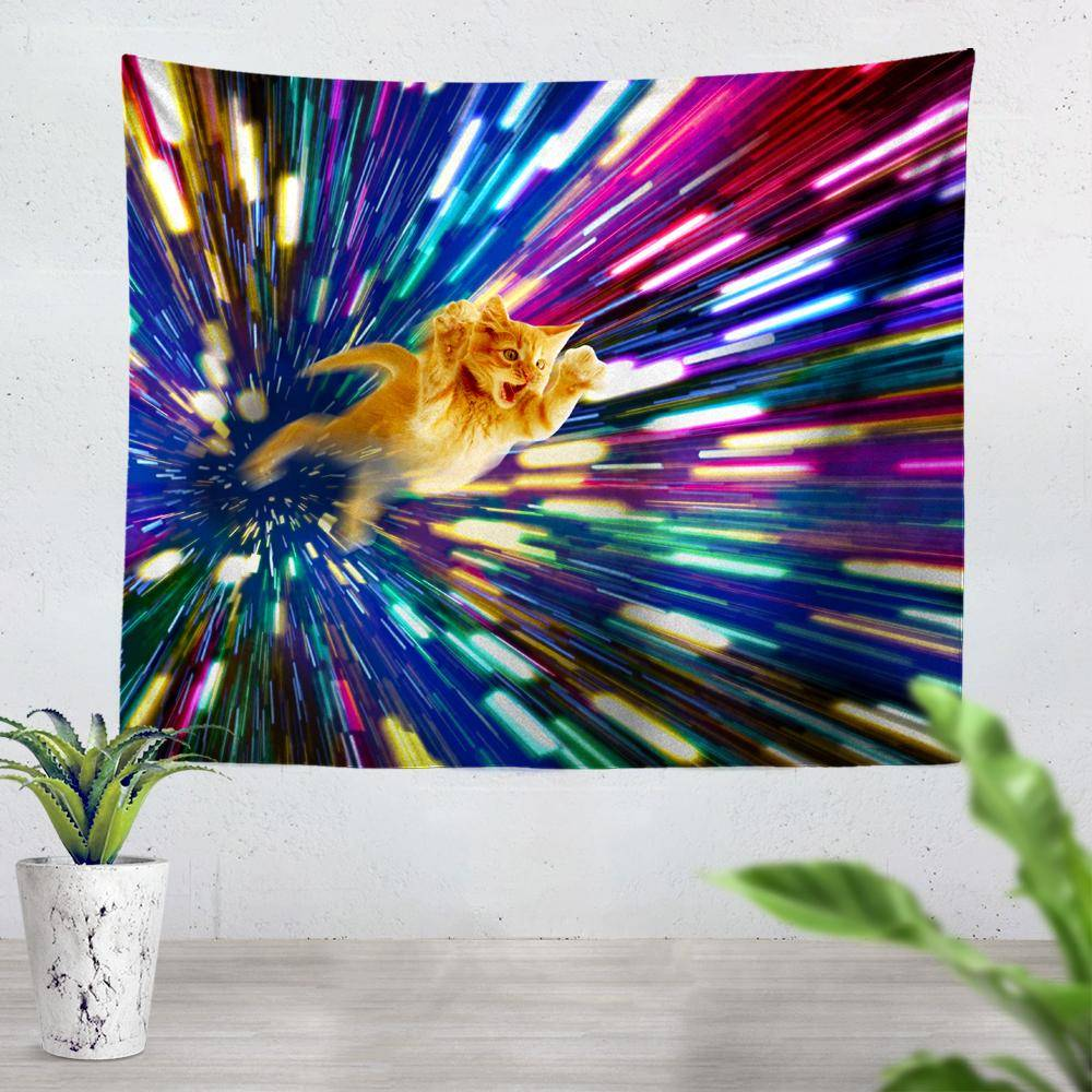 Cat Tapestry
